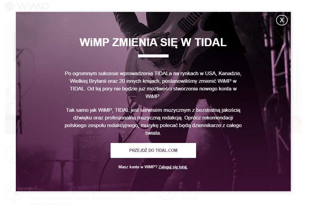 wimp-tidal