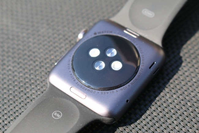 Apple Watch, space gray, 8