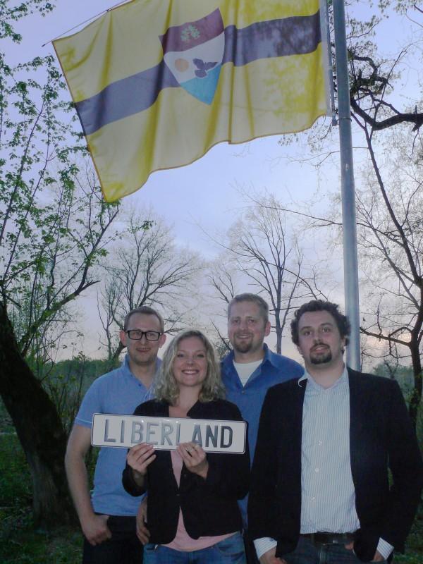 Założyciele Liberlandu