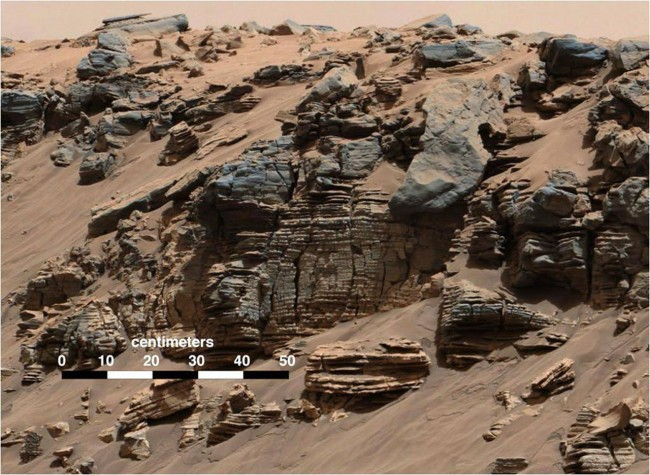 Miejsce lądowania Curiosity