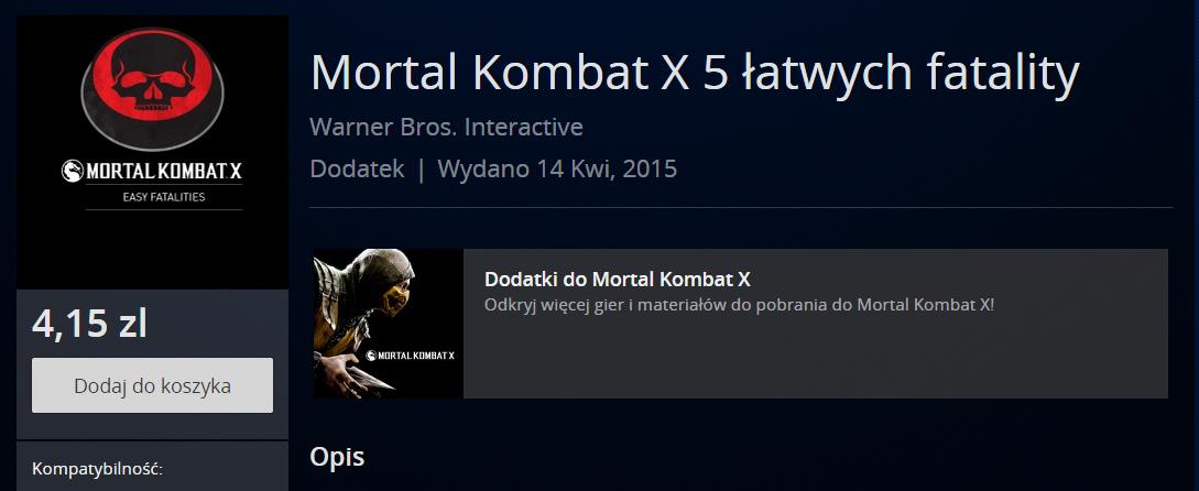 mortal kombat x DLC