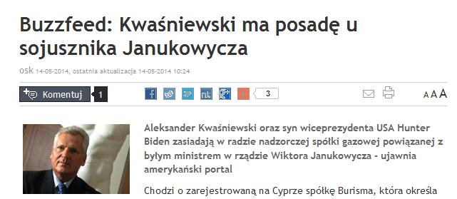 Rp.pl powołuje się na Buzzfeed