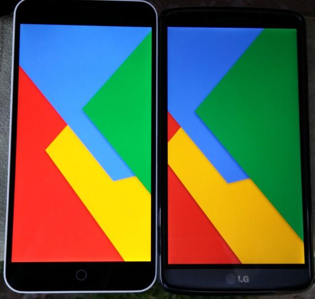 Meizu M1 note kontra LG G3