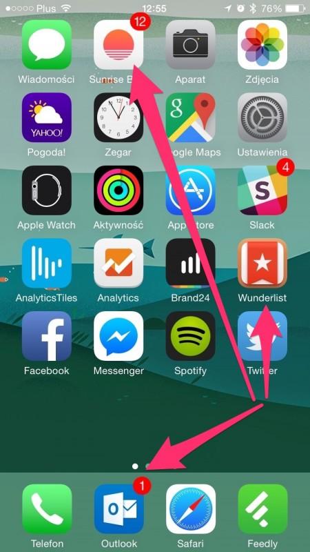 Microsoft na iPhonie