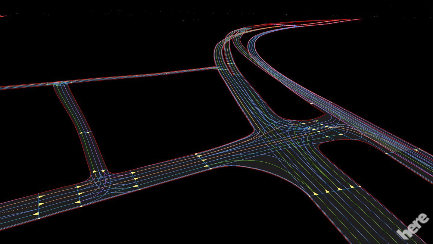 HERE introduces HD maps for highly automated vehicle testing – Spines