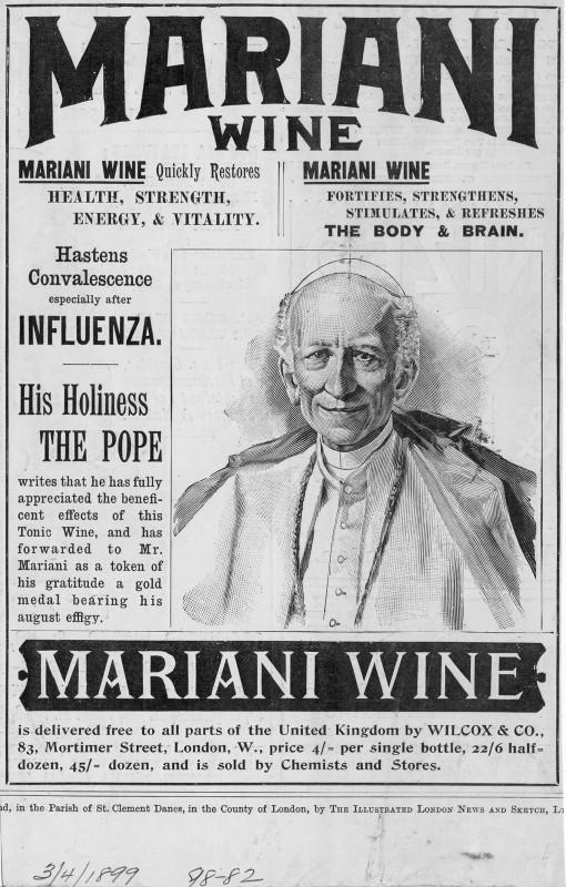 Vin Mariani POpe