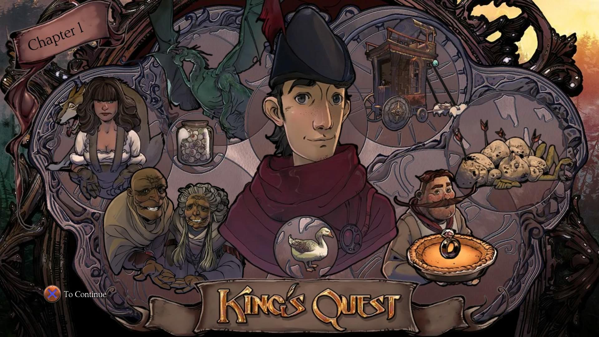 Kings quest trophaen
