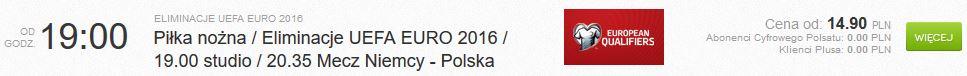 mecz niemcy polska w internecie