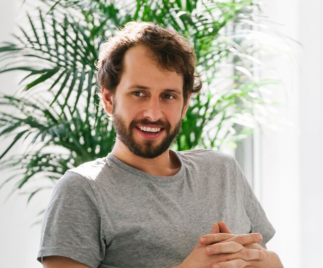 Bartek Kiszala jeden z zalozycieli firmy Base fot. Bartosz Pawlik