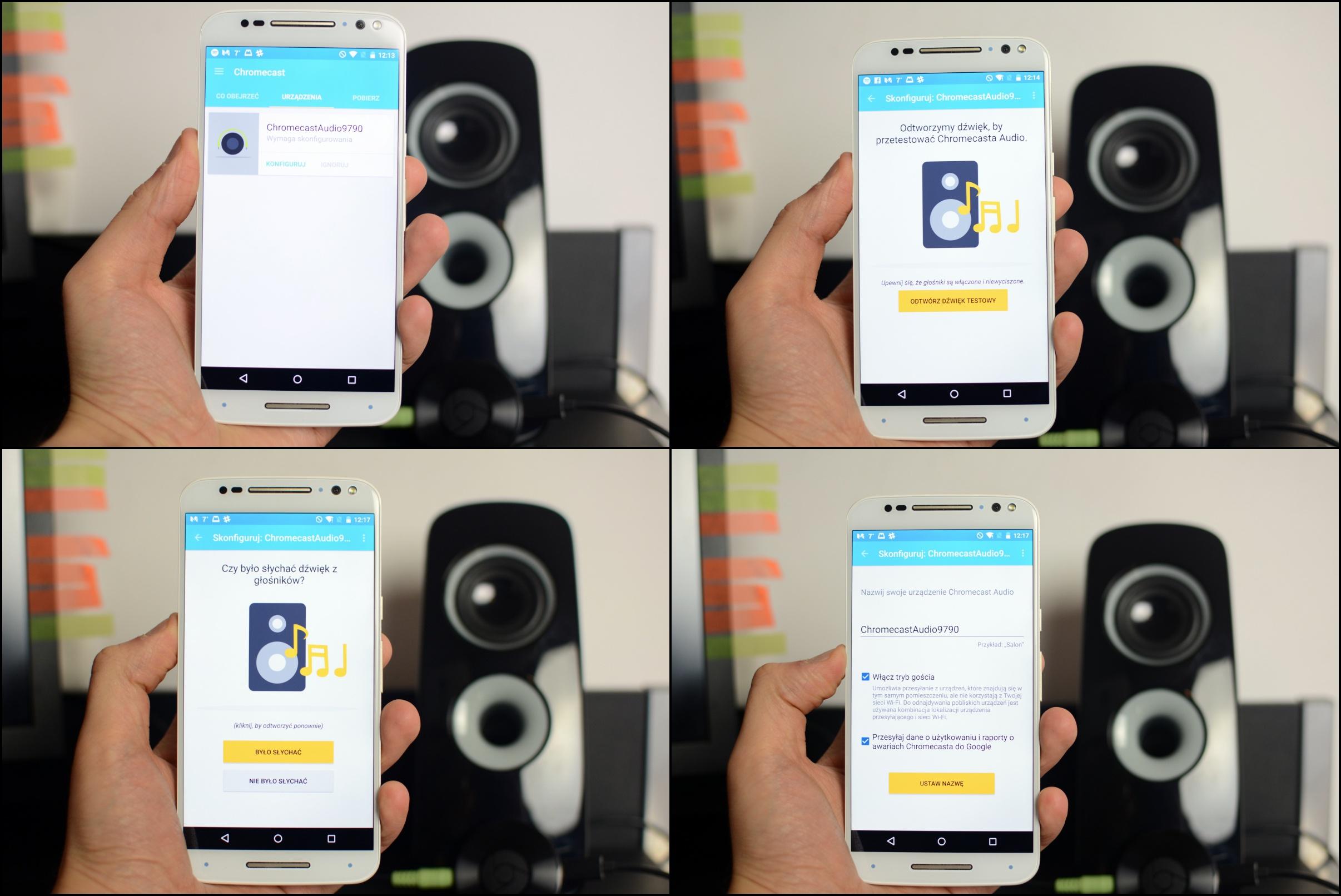 chromecast-audio-konfiguracja