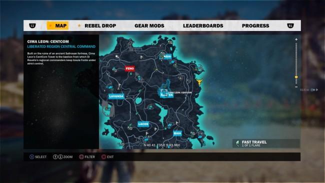 Just Cause 3 mapa