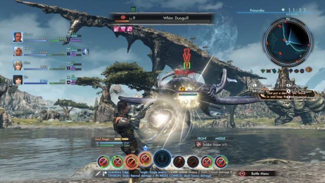 Xenoblade Chronicles X walka