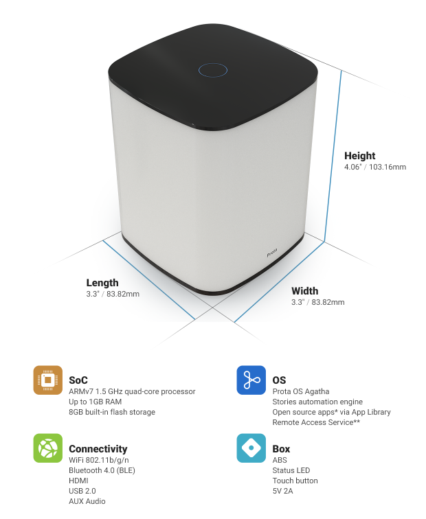 push smart home robot