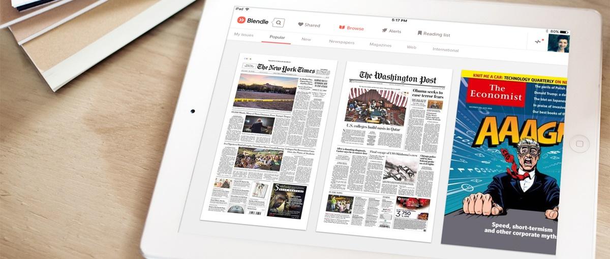 Blendle to startup, który chce zrewolucjonizować prasę
