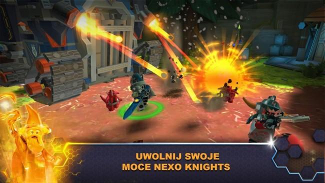 Lego Nexo Knights - aplikacja mobilna