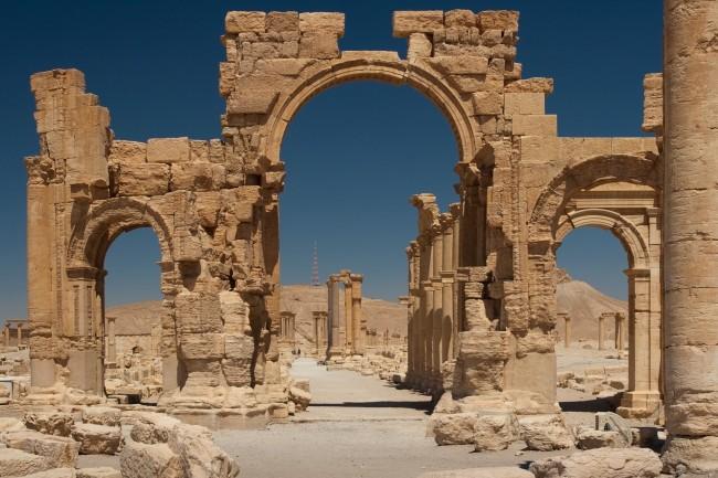 Syryjska Palmyra została zniszczona przez Państwo Islamskie