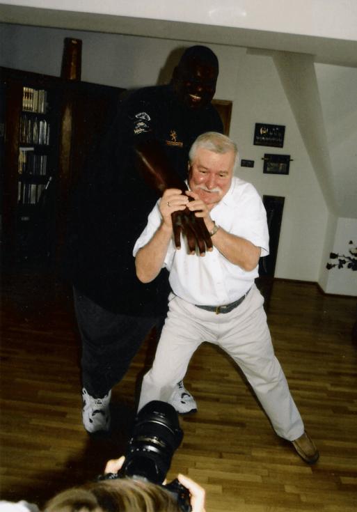 Lech Wałęsa: zdjęcie zamieszczone na Wykopie