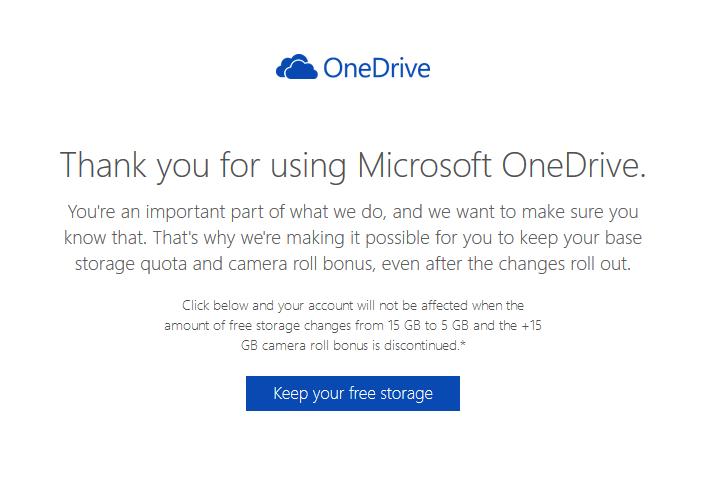 Darmowa przestrzeń na OneDrive