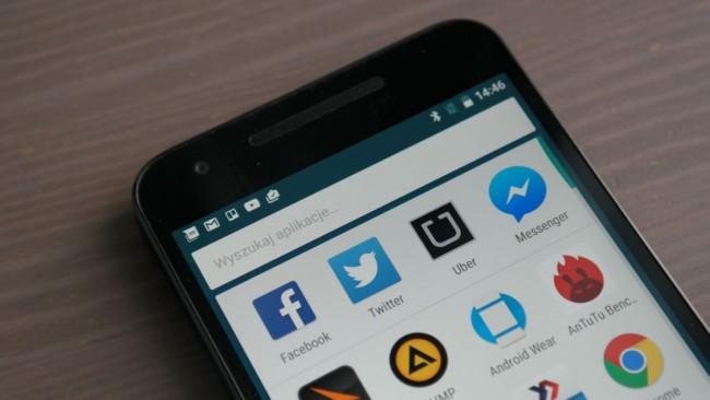LG Nexus 5X Ekran
