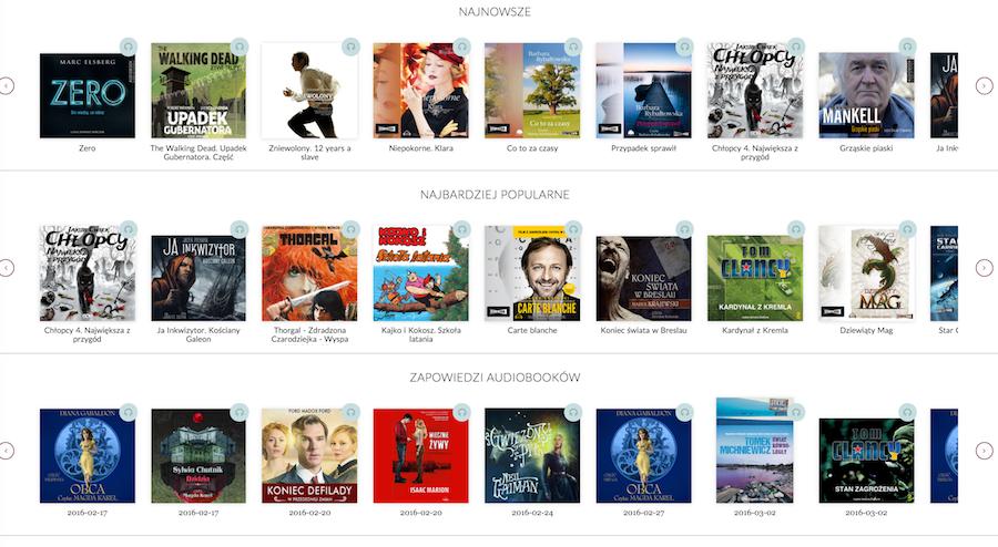 Storytel - katalog