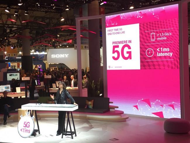Deutsche Telekom na MWC 2016
