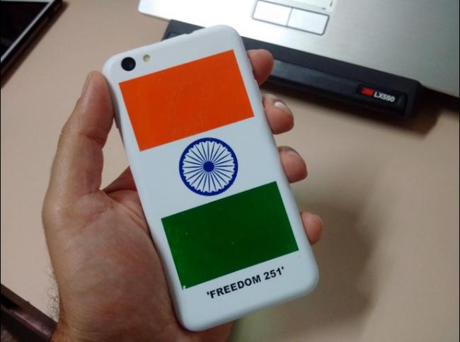 Freedom 251 to najtańszy smartfon na świecie.