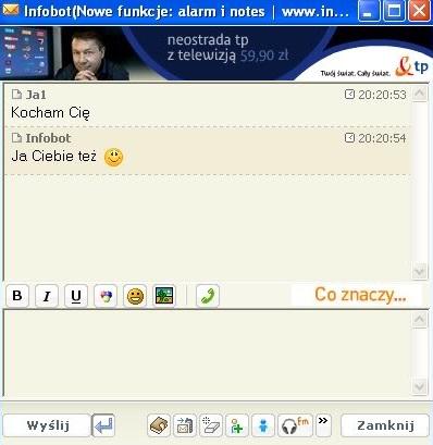 Infobot był wirtualnym aststentem w Gadu Gadu