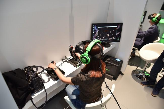 HTC Vive Pre na MWC 2016