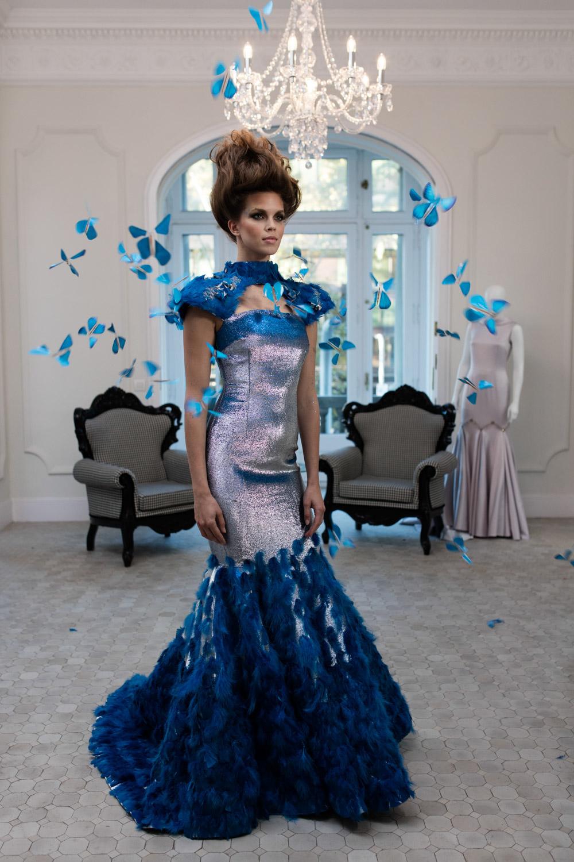 Niezwykły projekt sukni, The Butterfly Effect, powstały w wyniku współpracy Intela i dwóch projektantek mody, Ezry i Tuby.