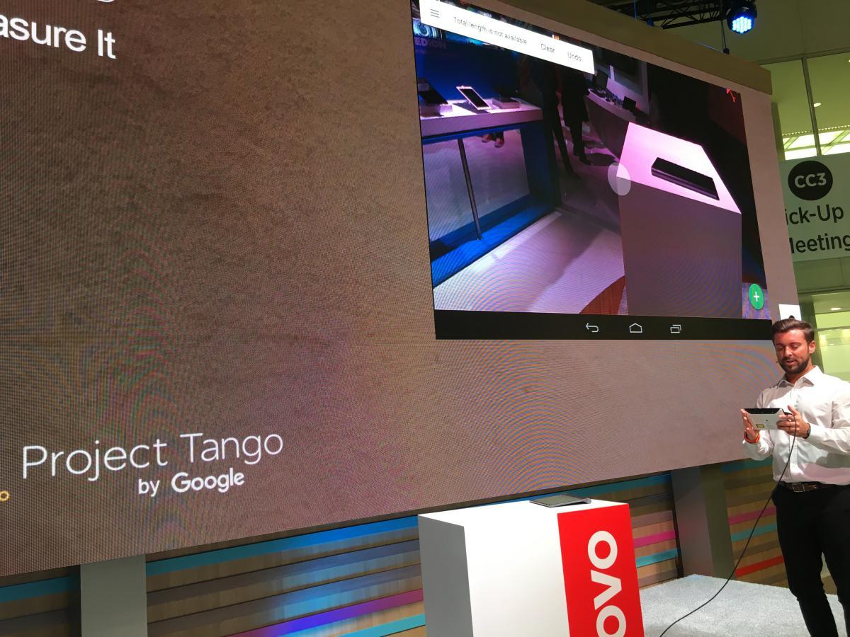 Project Tango był dla mnie najmocniejszym punktem stoiska Lenovo.