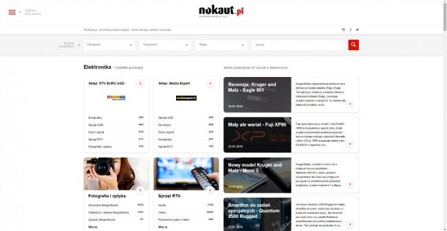 Nowy Nokuat - nowa strona główna