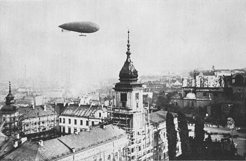 Polski sterowiec Lech (1926) fot. Wikipedia