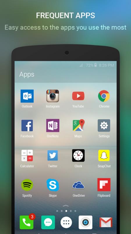 Microsoft opracował już nawet własny, autorski interfejs na Androida (Arrow)