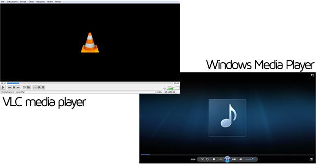 VLC vs WMP