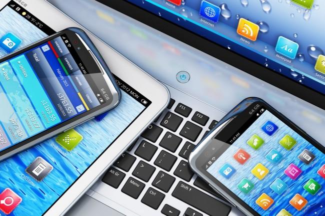 mobile smartfon tablet laptop
