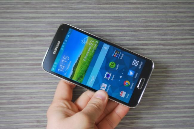 Samsung Galaxy S5, ikona