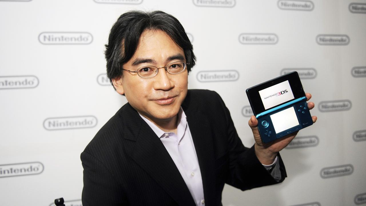Iwata Nintendo 3DS
