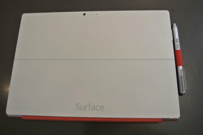 Surface Pro 3, spód