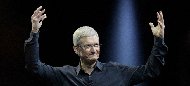 Tim Cook keynote 2014