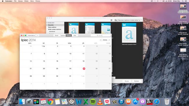 OS X Yosemite beta wrażenia 4