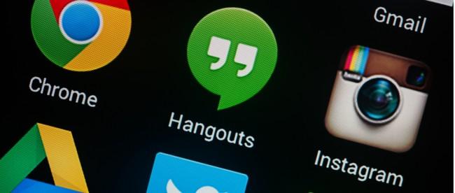 Google Hangouts aktualizacja