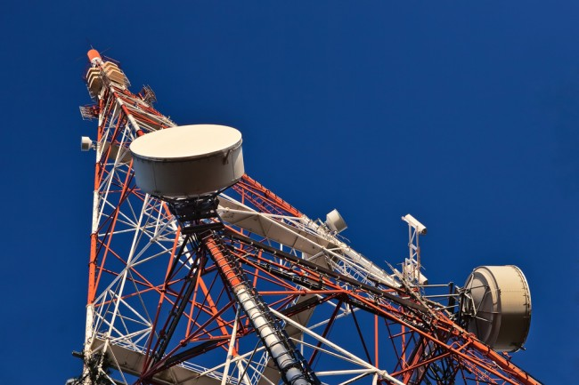 zasieg bts nadajnik antena