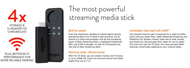 Amazon FireTV Stick 2