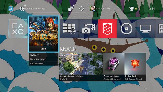PS4 OS 2.0 2