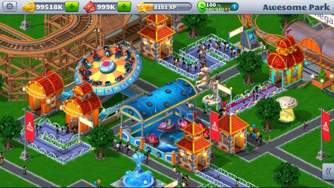 RollerCoaster Tycoon 4 Mobile 2