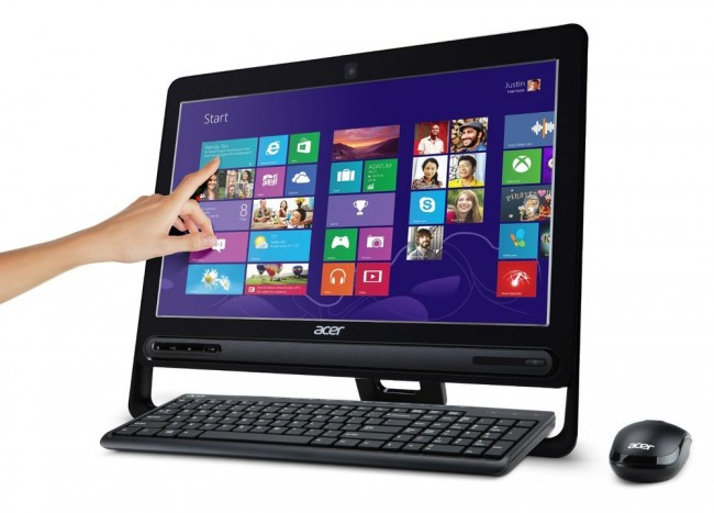 all in one acer aspire 4