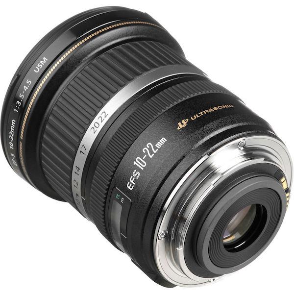 Obiektyw Canon 10-22 niedługo może być znacznie mniejszy