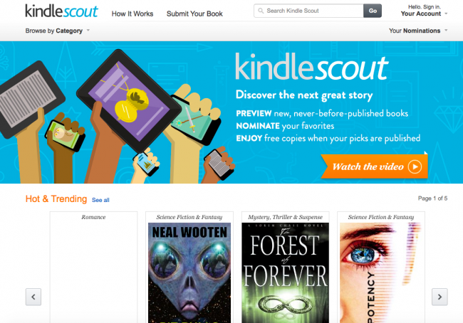 kindle scout 1