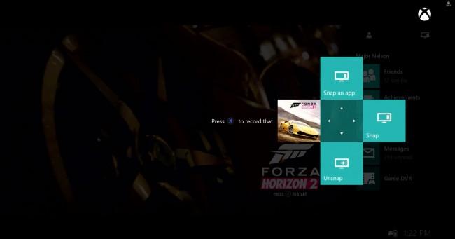 """Wciśnij dwa razy """"Xbox"""", a pojawi się podręczne menu do dzielenia ekranu i nagrywania wideo"""