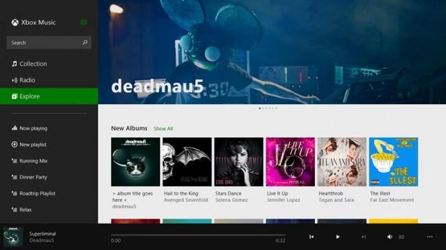 Muzyka (Xbox Music)